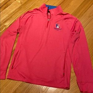 America's Cup sailing 1/4 zip